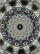 abstract mandala architecture