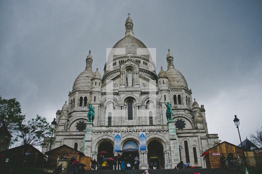 Sacre Coeur cathedral in Paris