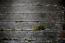 old wood boards on a boardwalk