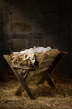 an empty manger
