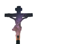 stars in a crucifix