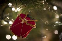 drum Christmas ornament