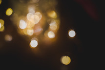 bokeh fairy lights