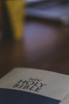 NIV Holy Bible cover