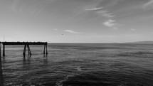 pier over ocean water