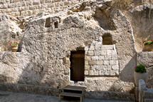 "Garden Tomb, Jerusalem - ""He is not here for he is Risen"""