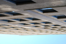 windows on a tall brick building