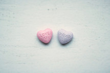 candy conversation hearts sweet tarts