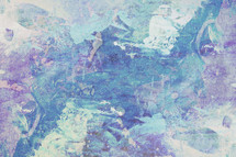 white, teal, purple, abstract art on canvas