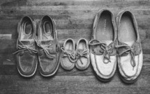 3 pairs of Sperry shoes