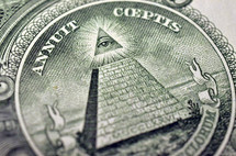 Pyramid on money