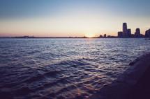ripples in the Hudson bay