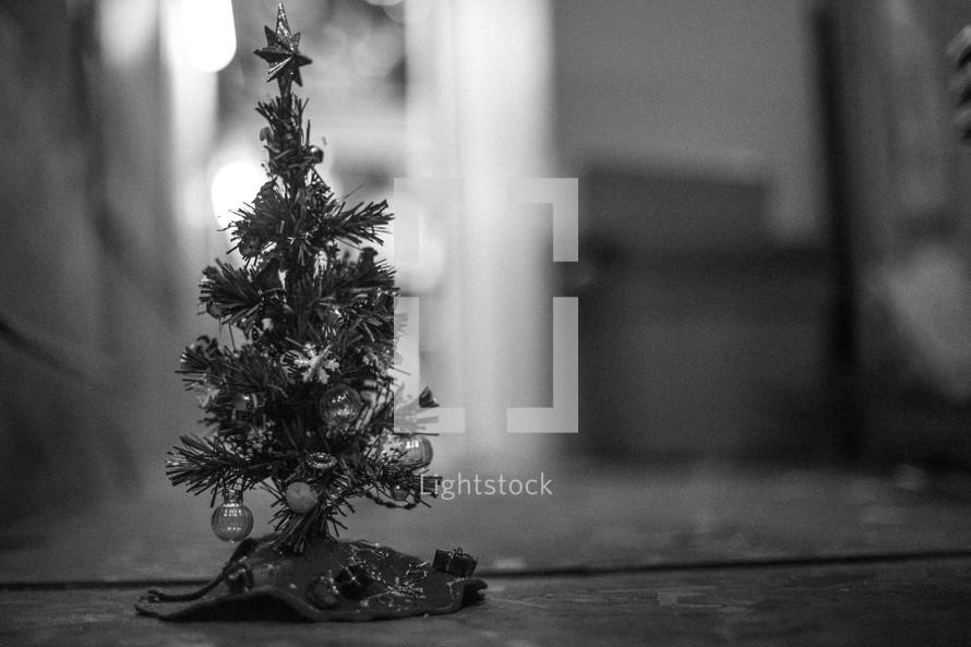 Miniature Christmas tree