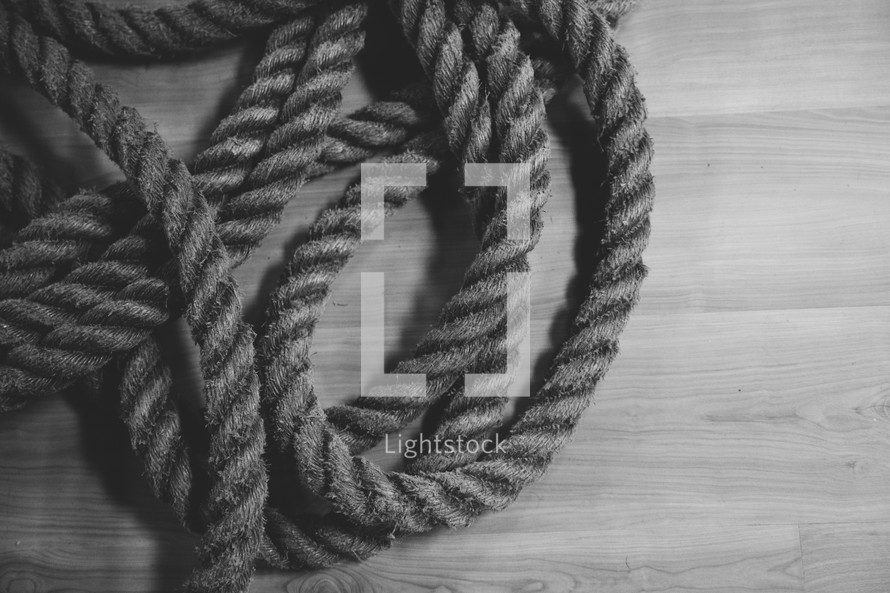 rope in a gym