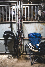 horse gear and tackle
