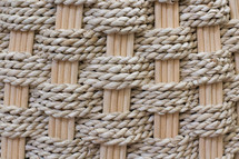 basket weave with rope