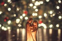 hand carved nativity from Jerusalem