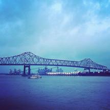 bridge over a bay