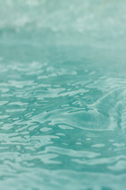 teal water background