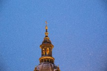 bell tower steeple in Budapest