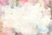 watercolor splatter background.