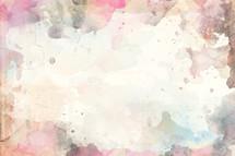 watercolor splatter background.