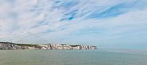 Rocky peninsula extending into the ocean