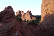 red rock peak
