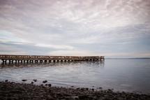 a lake pier