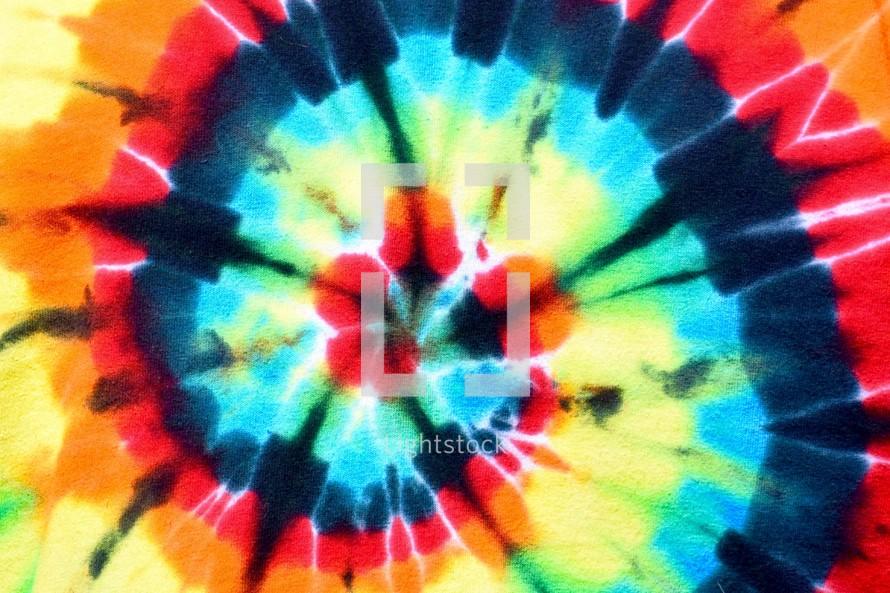 rainbow tie dye background