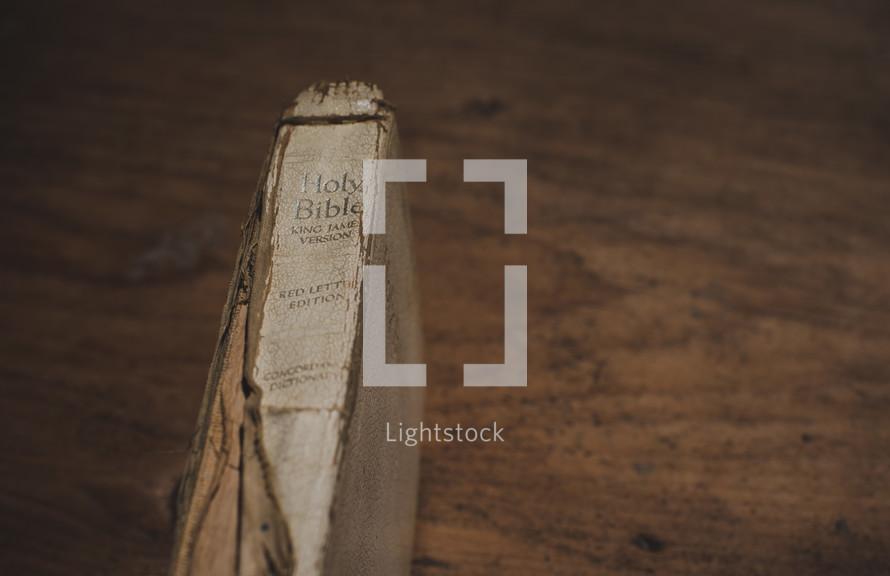 worn Bible