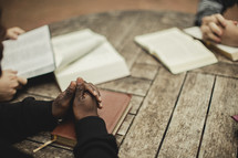 prayer at a Bible study