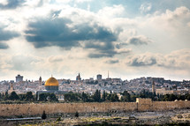 view of modern day Jerusalem