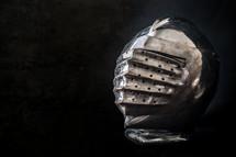 Knight's armor, knight's helmet