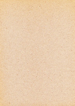 Blank beige sheet of old paper. Empty background with vintage texture.