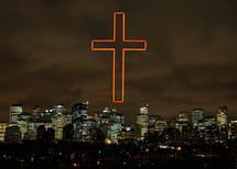 cross over a city
