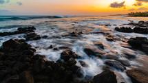Kauai tide at dawn