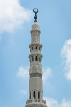 tower of a mosque