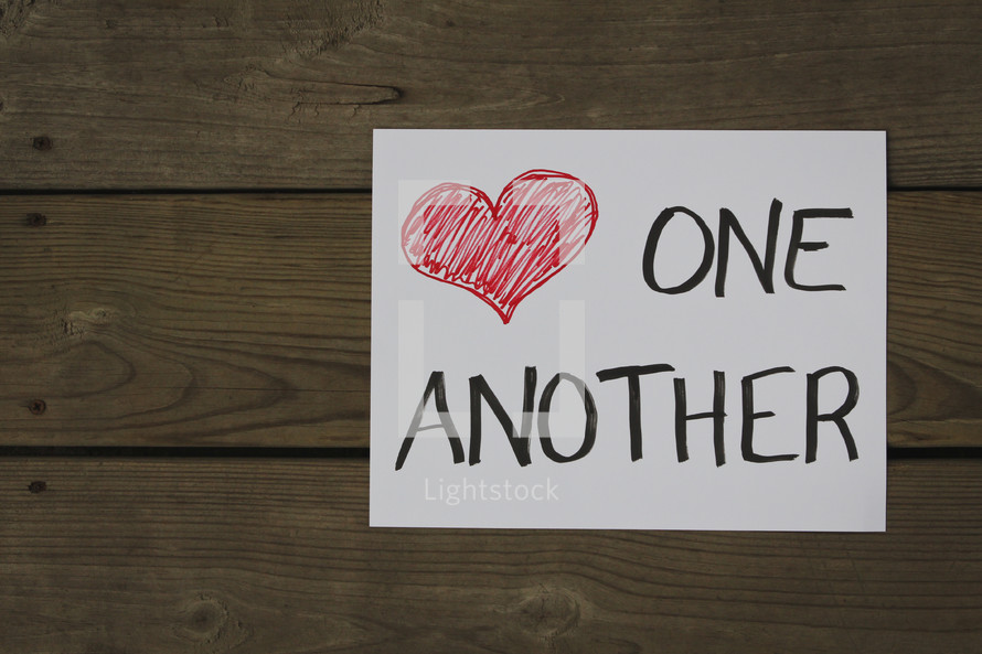 heart one another
