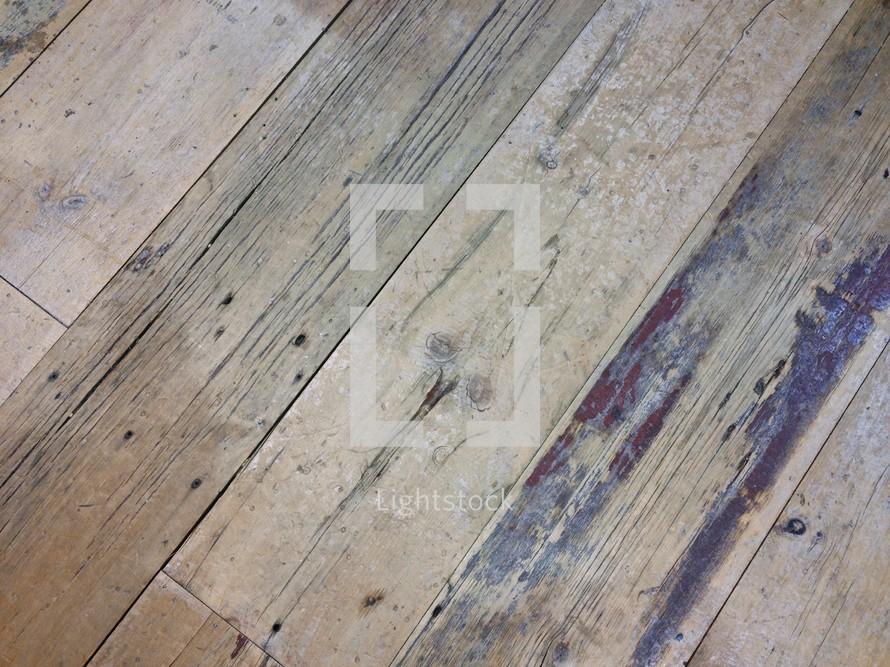 wood floor slats