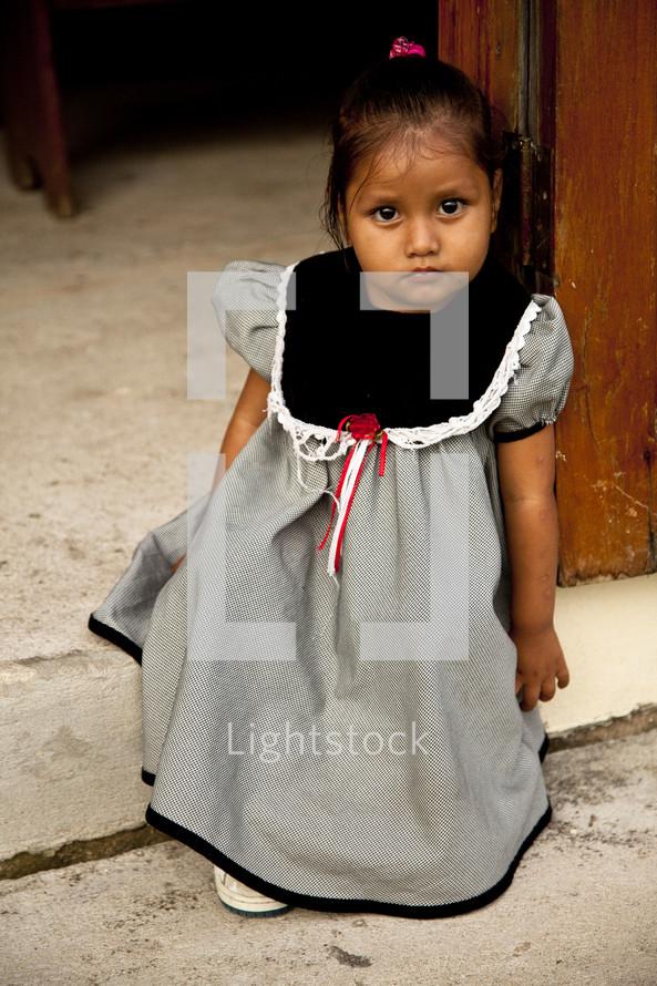 Little Latin girl