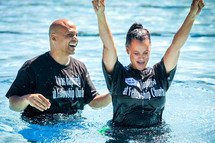 adult water baptism