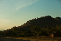 A hill in Malawi, Africa