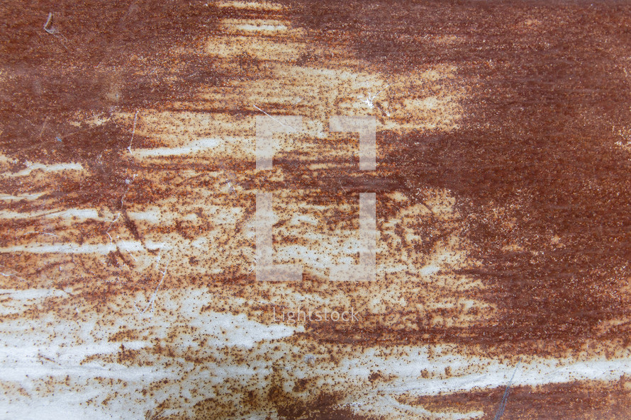 stained and rusty background