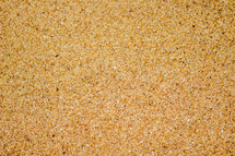 The texture of sand.