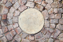 pavers in a circle