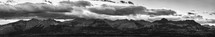panorama of mountain range