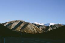 Mountain range.