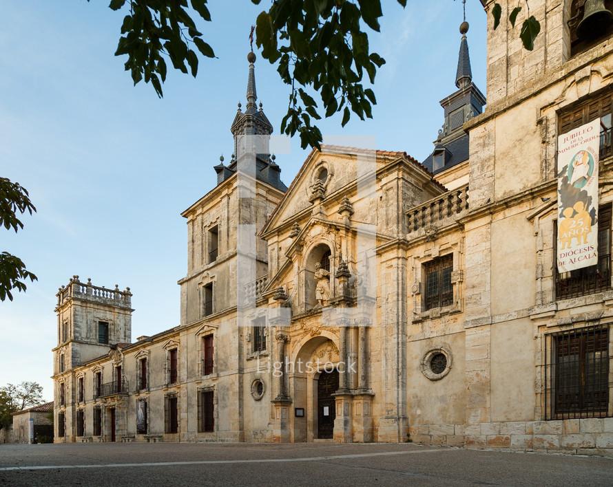 old stone building in Nuevo Baztan, Spain