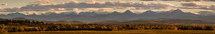 panoramic view of mountains surrounding the plains